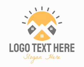 Town - Bright Town logo design