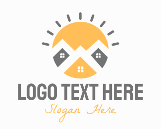 Construction - Bright Town logo design