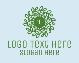 Spa - Wreath Lettermark Spa logo design