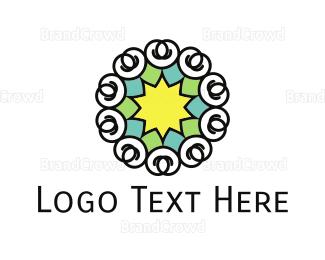 Star - Star Flower logo design