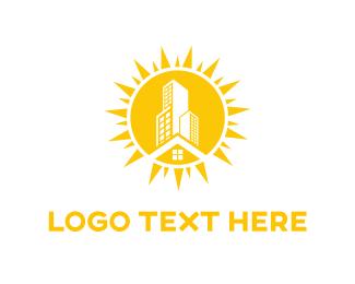 Shine - Sun City logo design