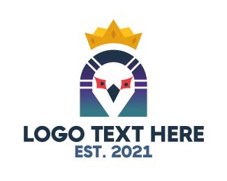 Mascot - King Pigeon logo design