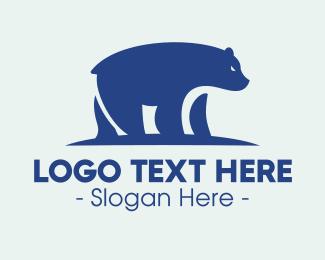 Arctic Animal - Arctic Polar Bear logo design
