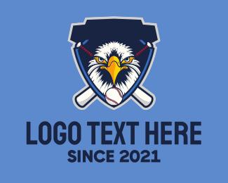Baseball - Wild Eagle logo design