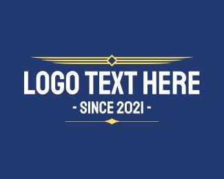 Text - Military Aviation Text logo design