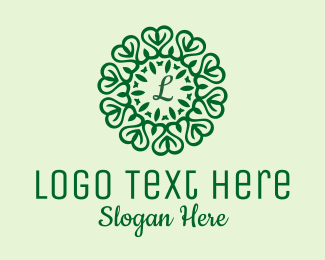 Healthy Diet - Decorative Natural Lettermark logo design