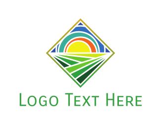 Dawn - Colorful Sunrise  logo design