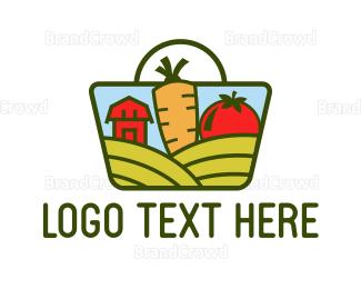 Barcelona - Farm Market logo design