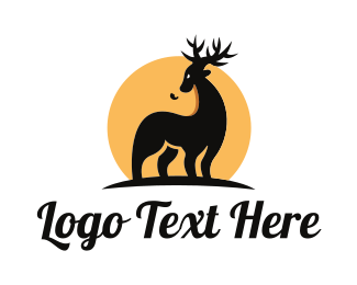 Elk - Wild Safari logo design