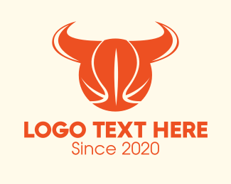 Basketball Court - Basketball Horns logo design