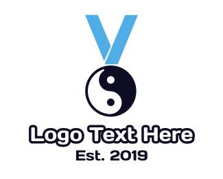 Honor - Chinese Medal logo design