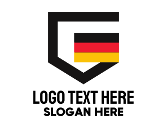 European - German Letter G Emblem  logo design