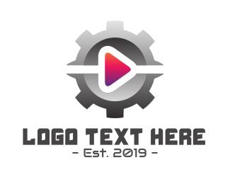 Play - Gear Play logo design