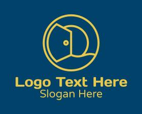 Interior - Interior Design Door Company logo design