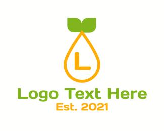 Marketplace - Citrus Pulp Letter logo design