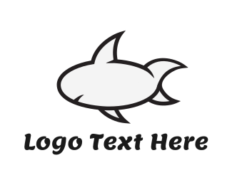 Quote - Cartoon Shark logo design