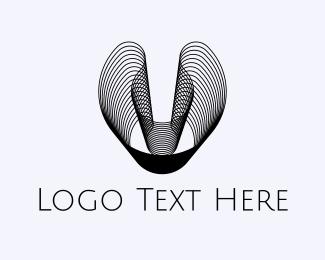 Illusion - Abstract Waves logo design