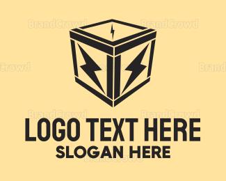 Electrical Energy - Electric Box logo design