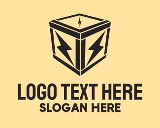 Crate - Electric Box logo design