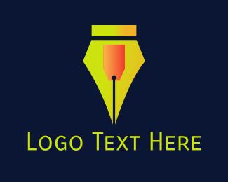 Discount - Pen Store  logo design