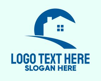 Chimney - Sunrise Housing logo design