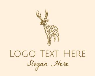 Doe - Simple Deer Line Art logo design
