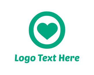 Mint - Mint Heart logo design