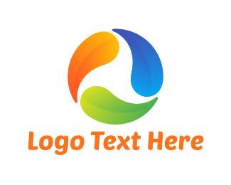 Drop - Colorful Drops logo design