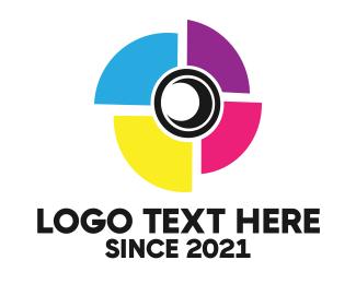 Specs - Photography Camera Lens logo design