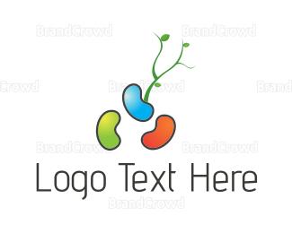 Magic - Colorful Beans logo design