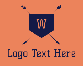 Arrow Shield Letter Logo