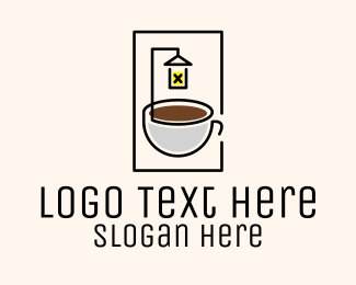 Night Owl - Late Night Coffee Shop logo design