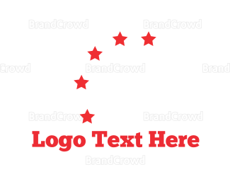 Moscow - Five Red Stars logo design