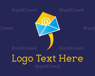 E-mail - Flying Mail  logo design