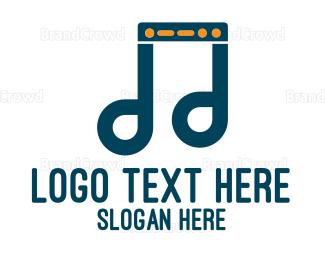 Tune - Music Server logo design