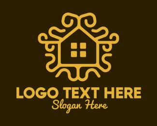 Room - Ornamental Real Estate logo design