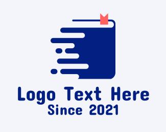 Learning - Online Learning Book logo design