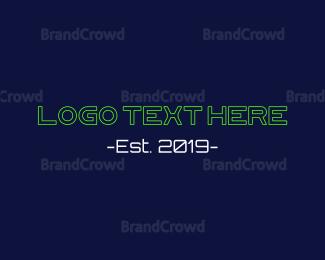 Technological - Hacker Screen logo design