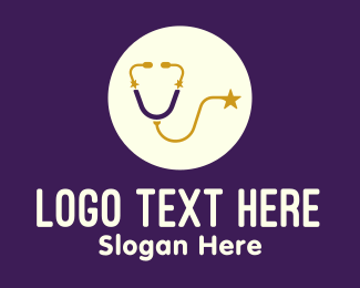 Starry - Starry Stethoscope logo design