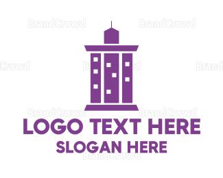Business Center - Pillar City logo design