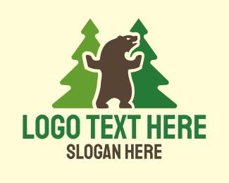 Dancing - Dancing Bear logo design