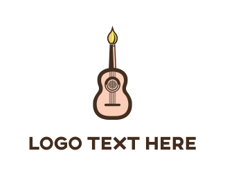 Concert - Guitar Artist logo design