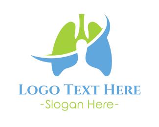 Clinic - Lung Clinic logo design