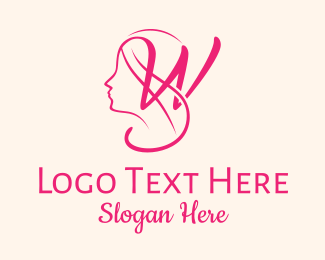 Gynecology - Woman Silhouette logo design