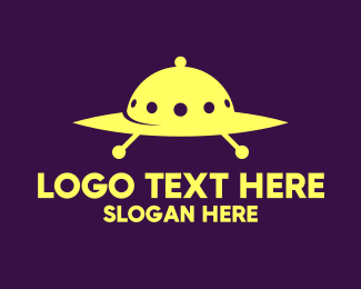 Spaceship - Cloche Spaceship logo design