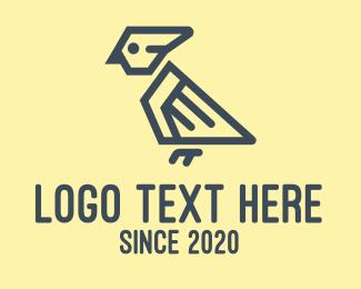 Parrot - Modern Parrot logo design