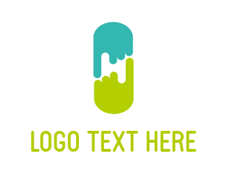 Finger - Point & Capsule logo design