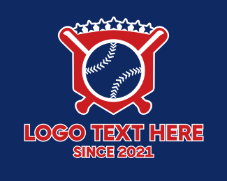 Baseball - Baseball Shield logo design
