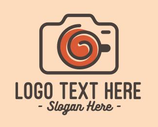 Vintage - Vintage Camera Cup logo design