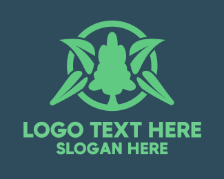 Botany - Green Tree logo design